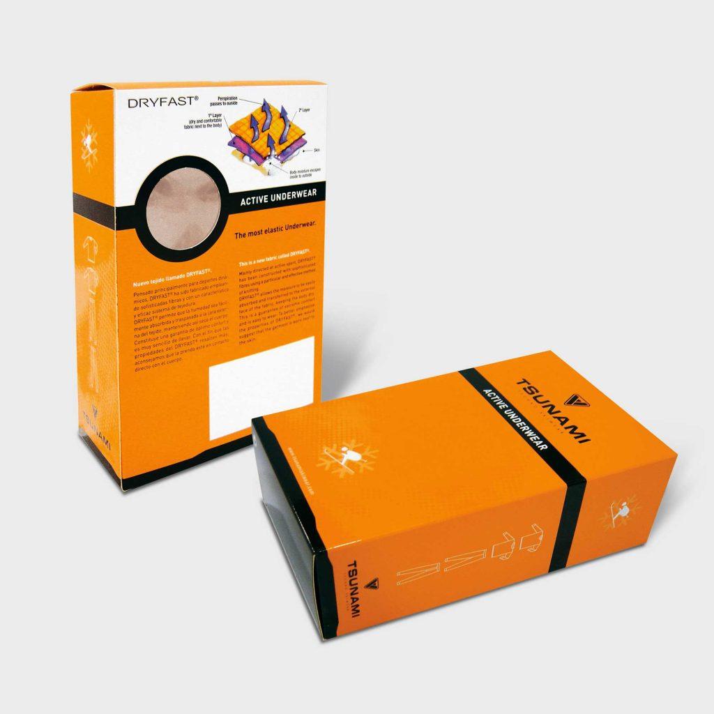 Caja Con Ventana PVC
